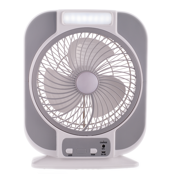 Rechargeable Table Fan 7 Inches Arf 3508g Light Hub